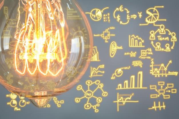 lampadina-con-diagrammi-aziendali-sfondo_1232-879